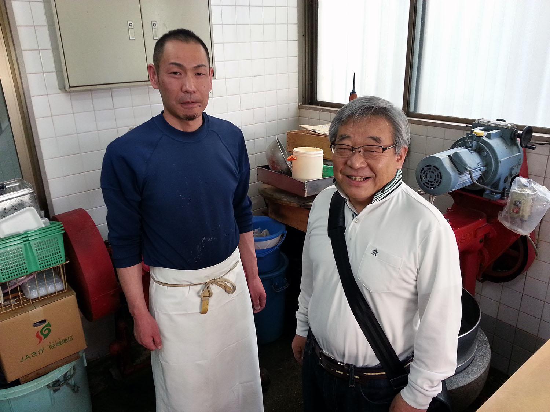 大清かまぼこ店の清水さんと塚田マスター2.jpg